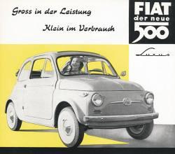 Fiat 500, 60er Jahre