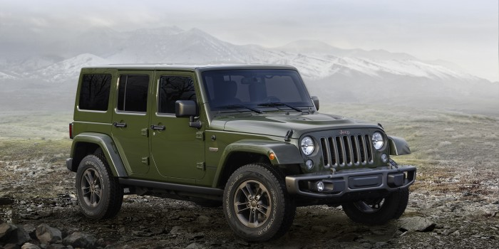 75 Jahre Jeep. Jeep feiert mit 75th Anniversary Modellen